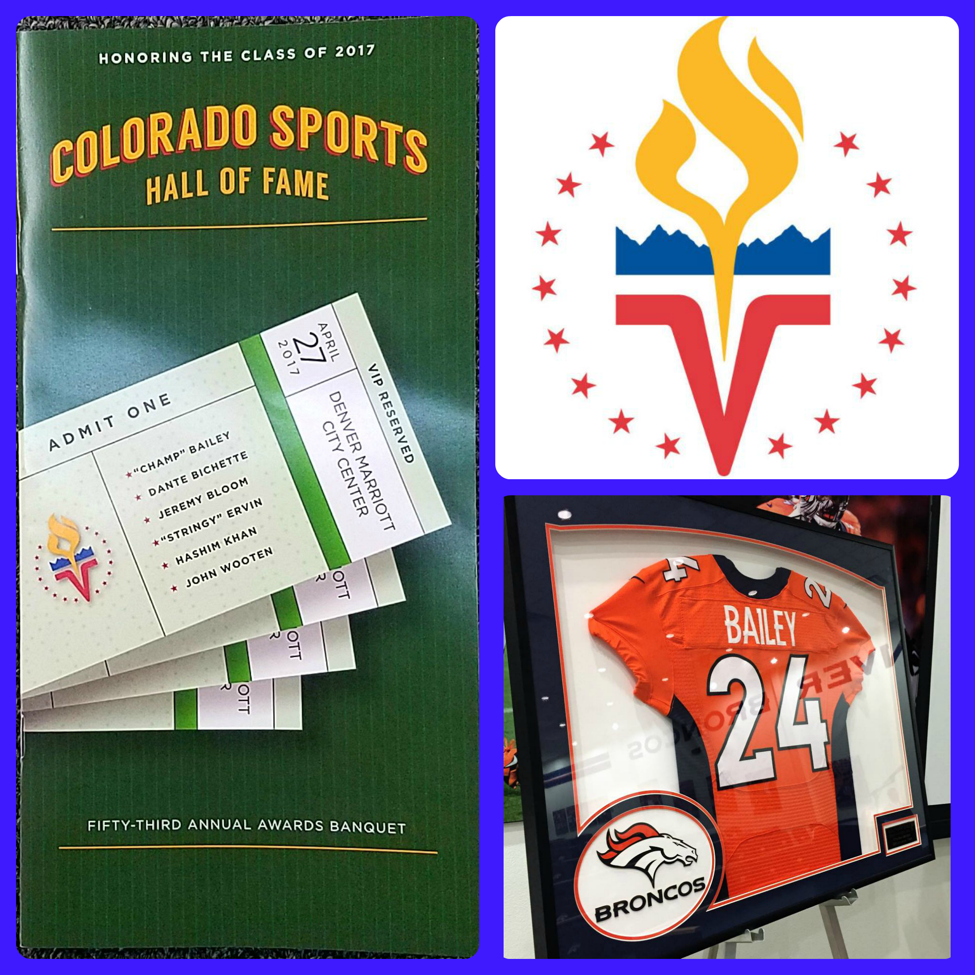 Congratulations to the 2017 Colorado Sports Hall of Fame Inductees