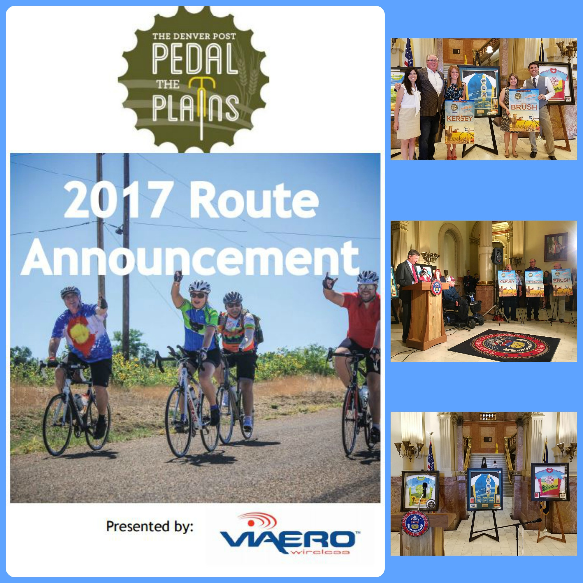 2017 Pedal The Plains Route