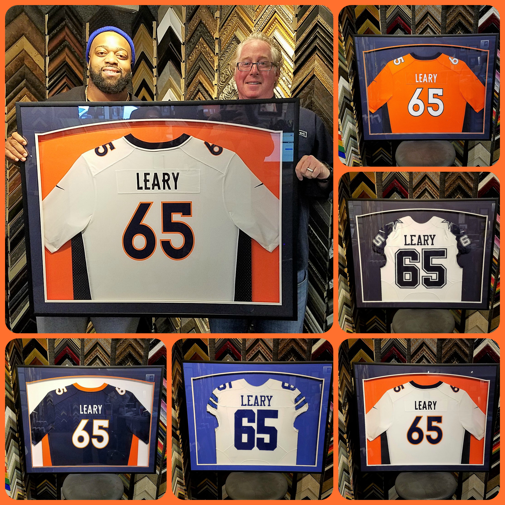 Honored to frame for #65