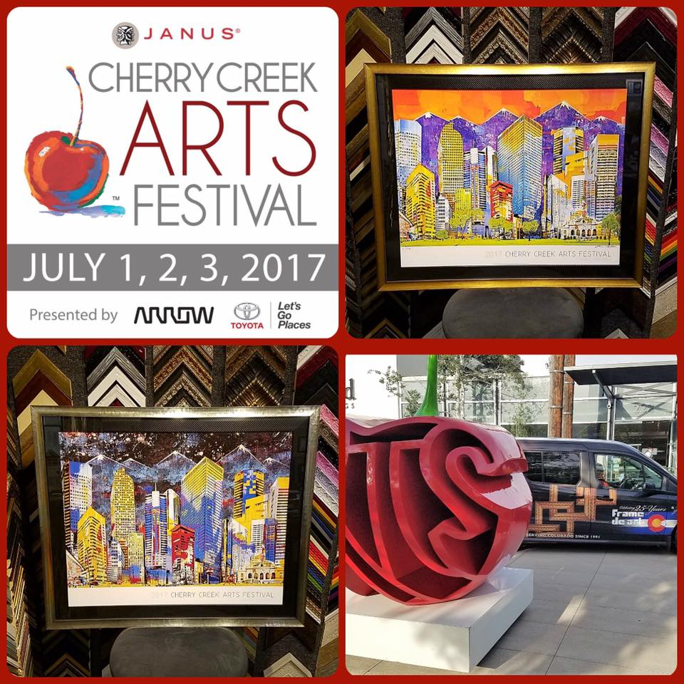 Cherry Creek Arts Festival Starts tomorrow!