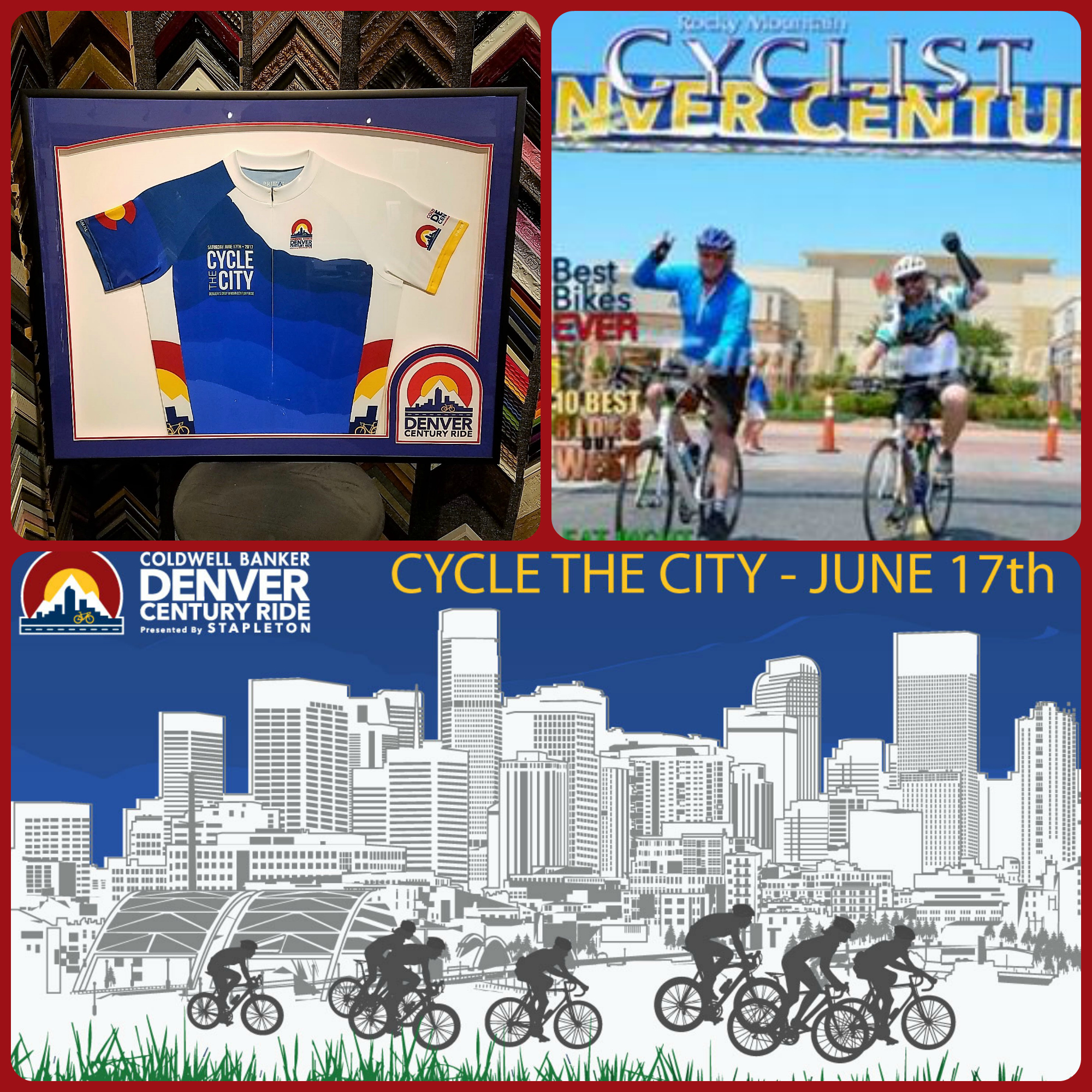 Join us today at Denver's Only Urban Century Ride