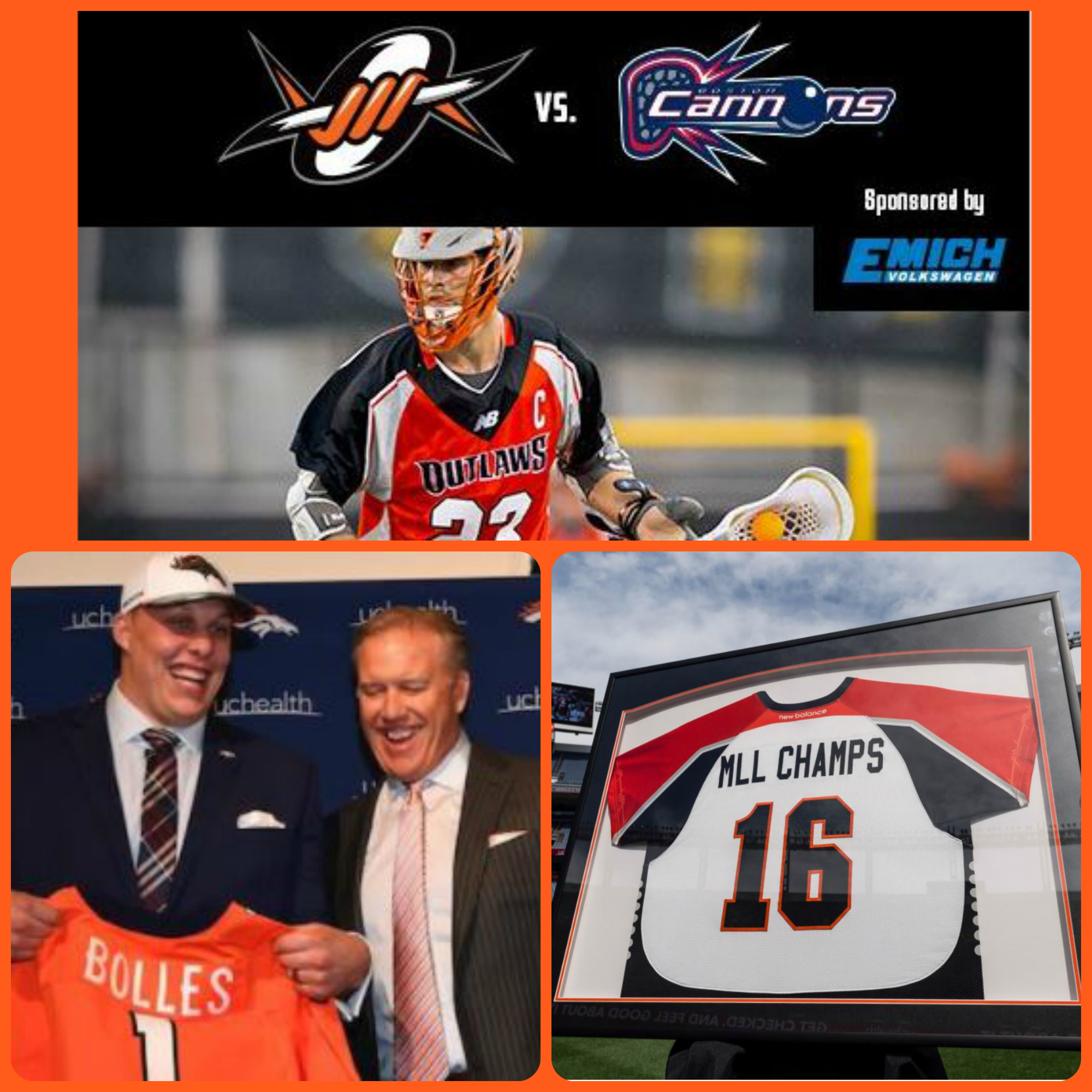 Giving away Denver Outlaws tickets
