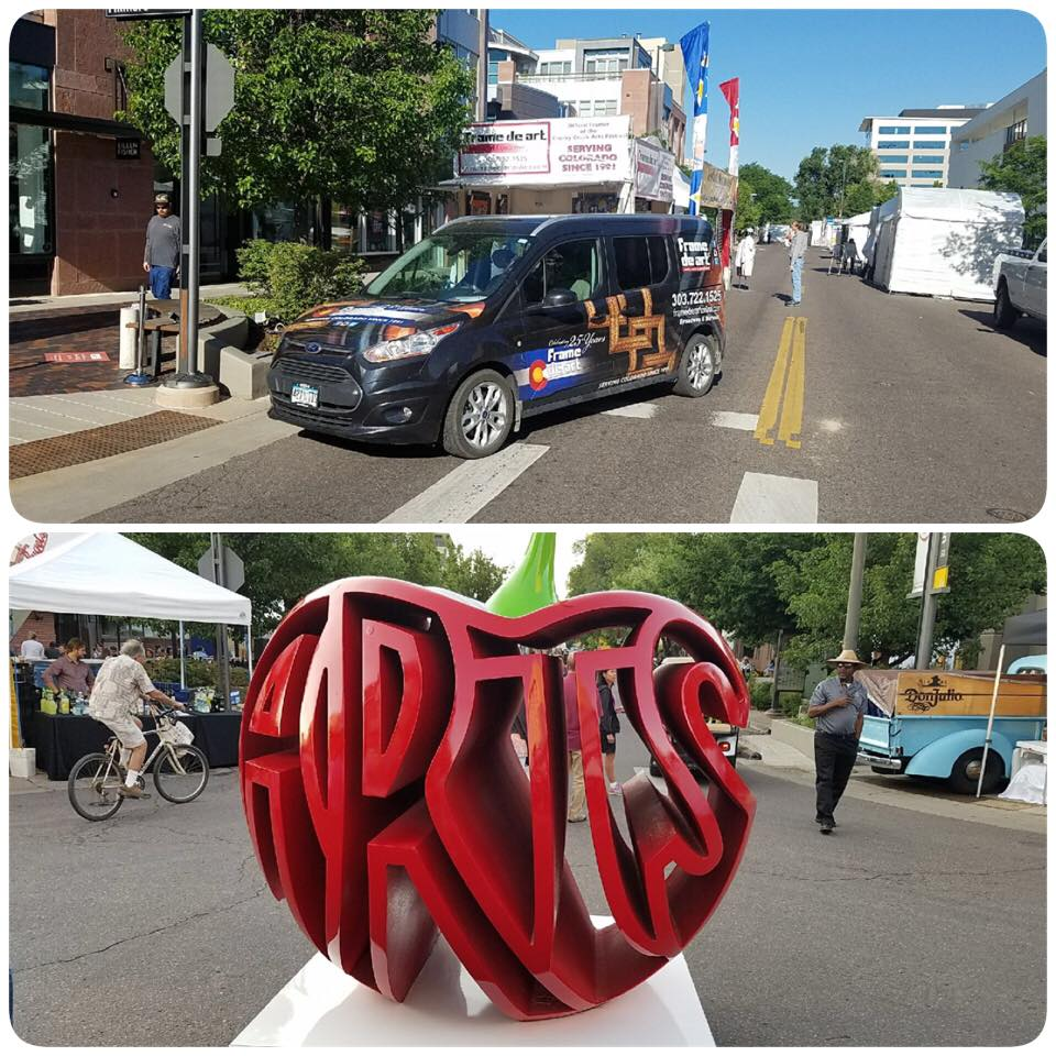 Cherry Creek Arts Festival starts today