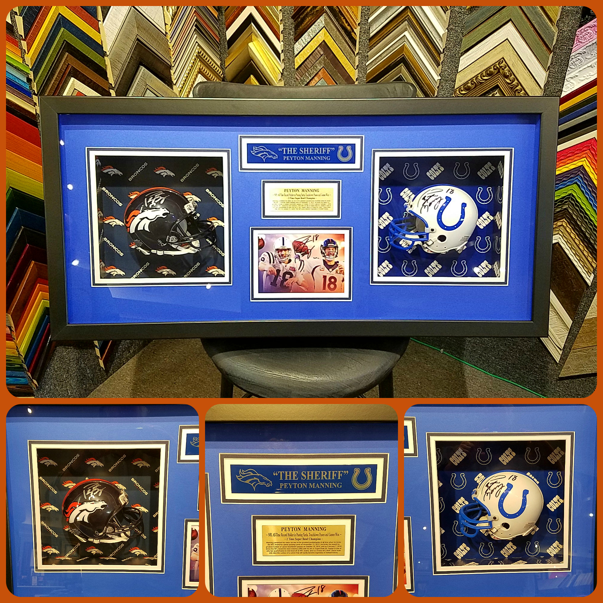 We can create you a custom shadowbox