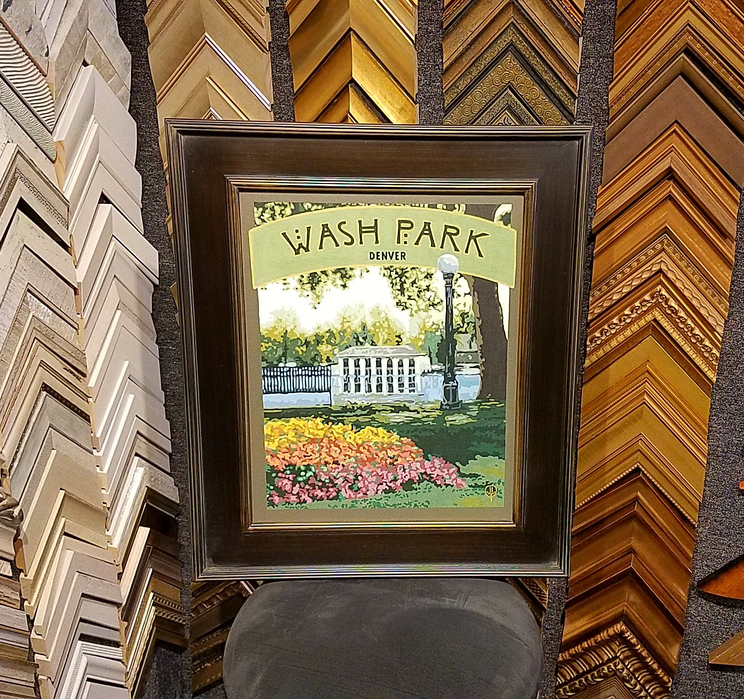 Washington Park Canvas Print