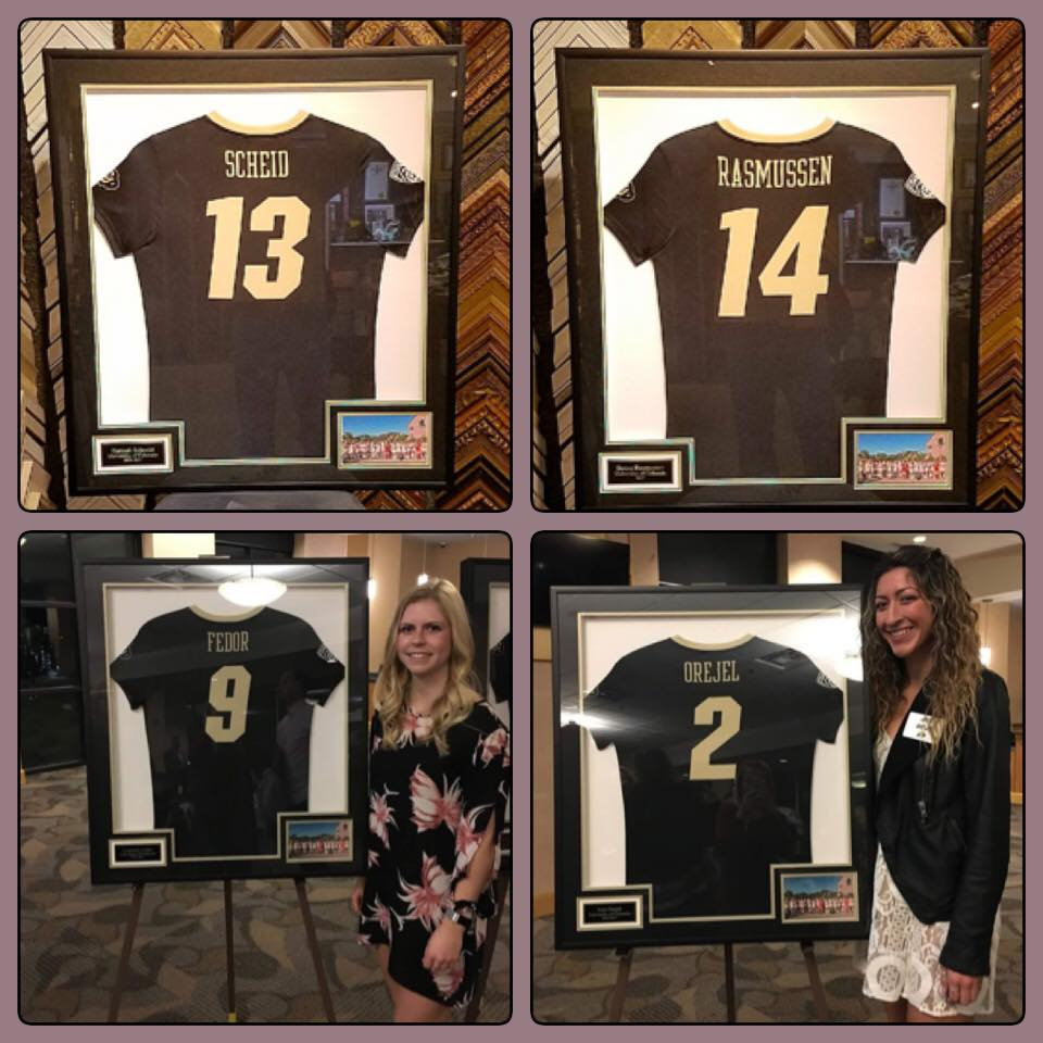 Congratulations to the Senior Colorado Buffaloes Soccer Players