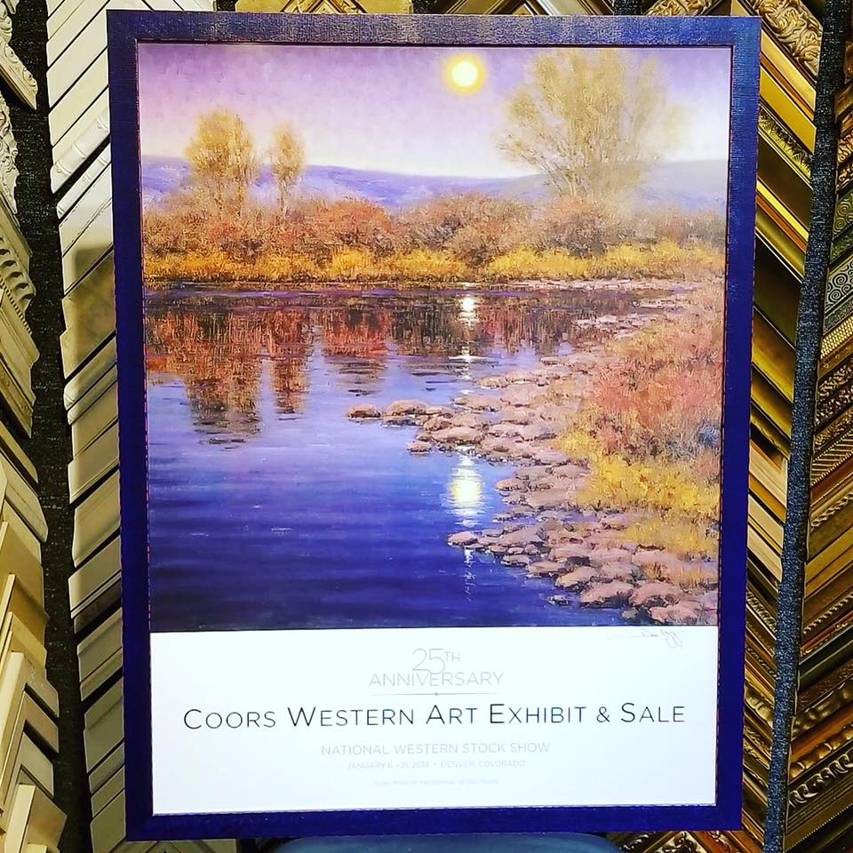 25th Anniversary Coors Western Art Exhibit & Sale Posters