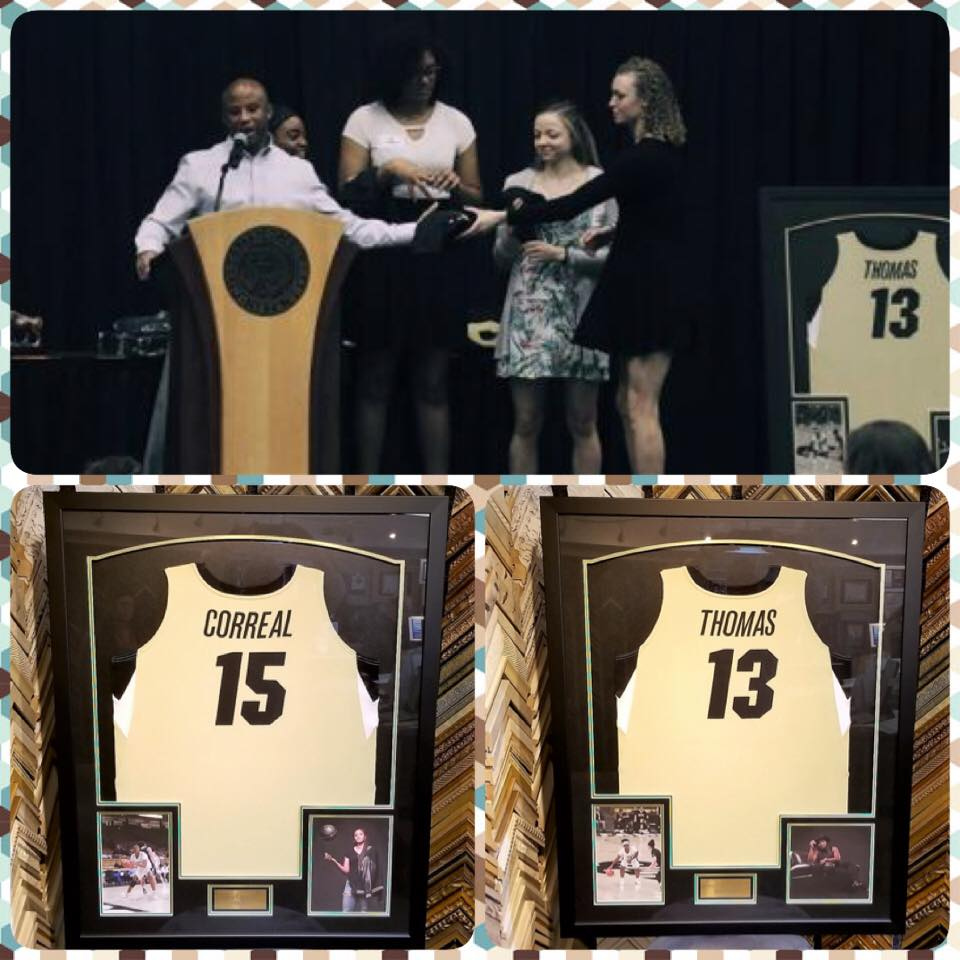 Congratulations to the Senior Colorado Women's Buffaloes Basketball Players