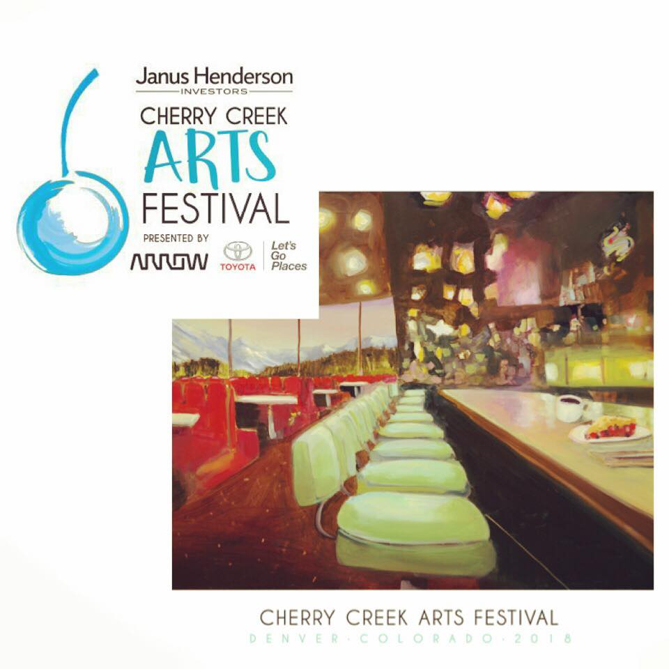 2018 Cherry Creek Commemorative Arts Festival poster