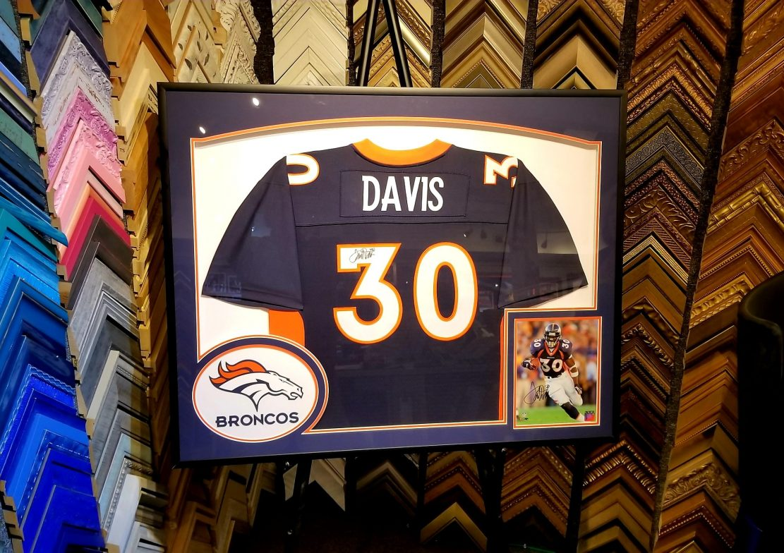 Terrell Davis Signed Jersey for Throwback Thursday