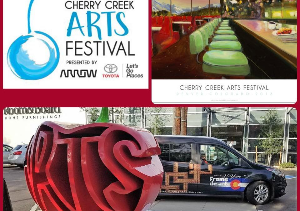 Cherry Creek Arts Festival 2018 is just a month away