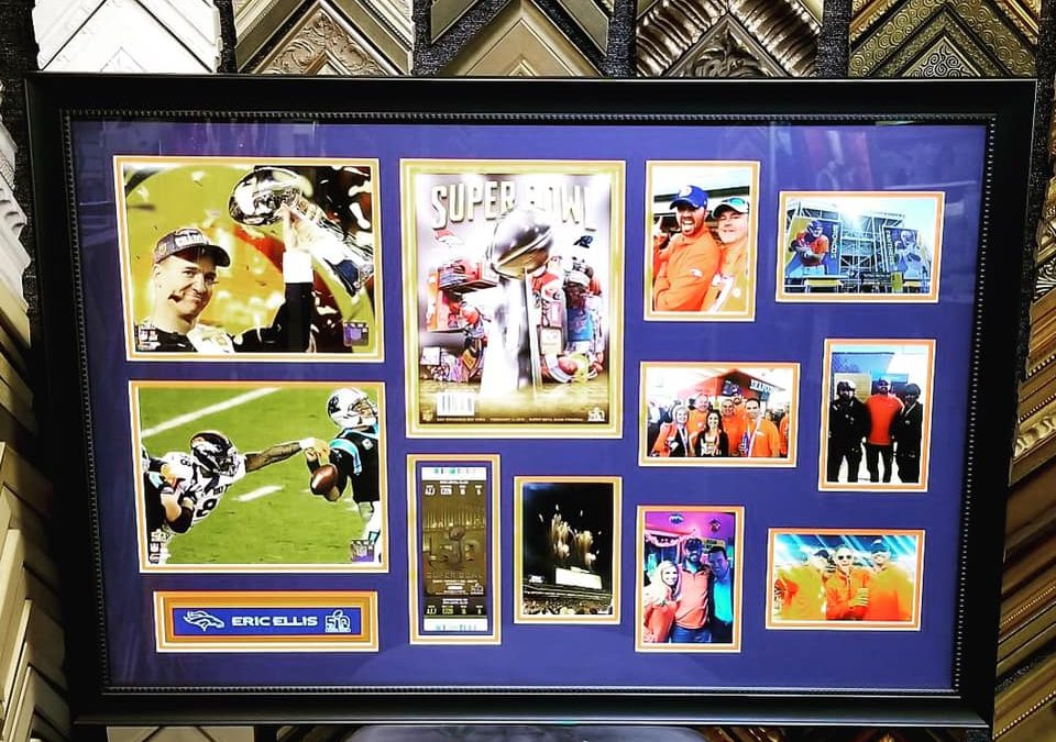 We love framing your Super Bowl 50 memories