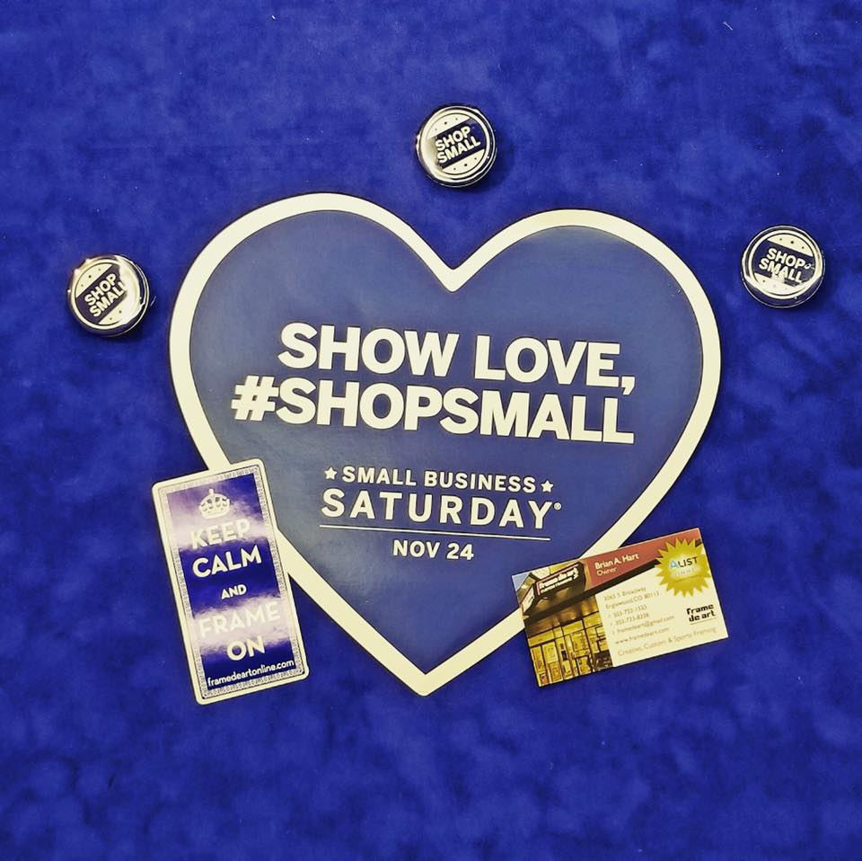 Small Business Saturday is in two weeks
