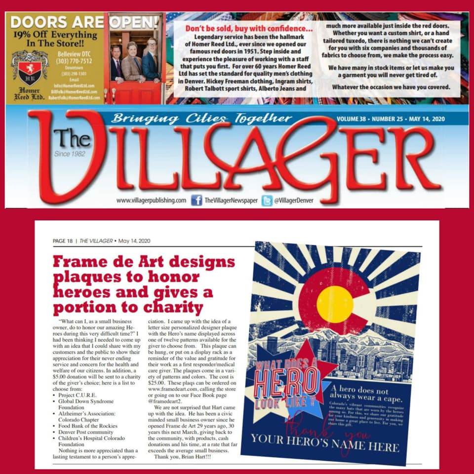 Check out this week's The Villager Newspaper