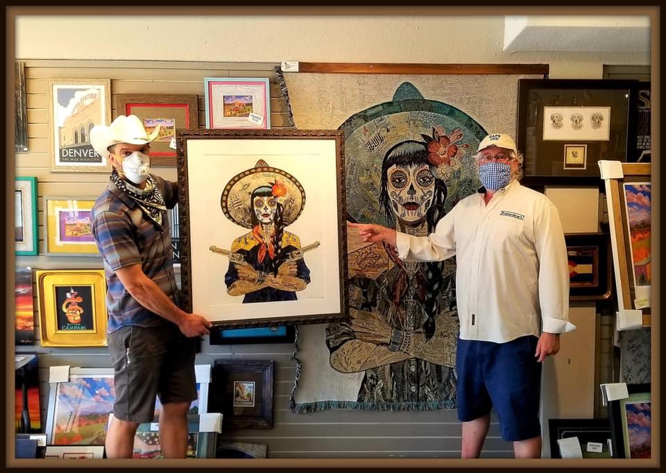 Amazing local artist Dolan Geiman