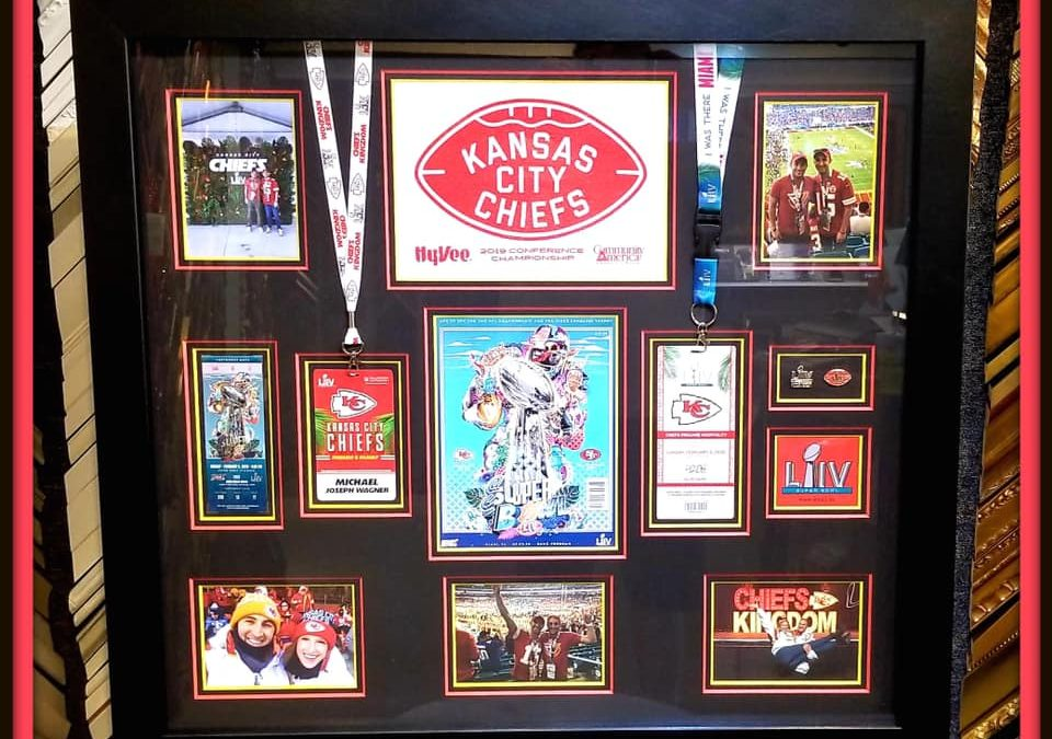 We frame for fans