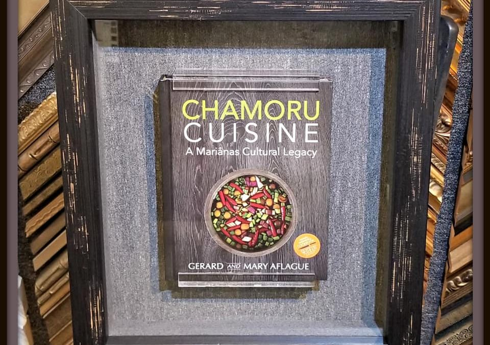Framed Cookbook