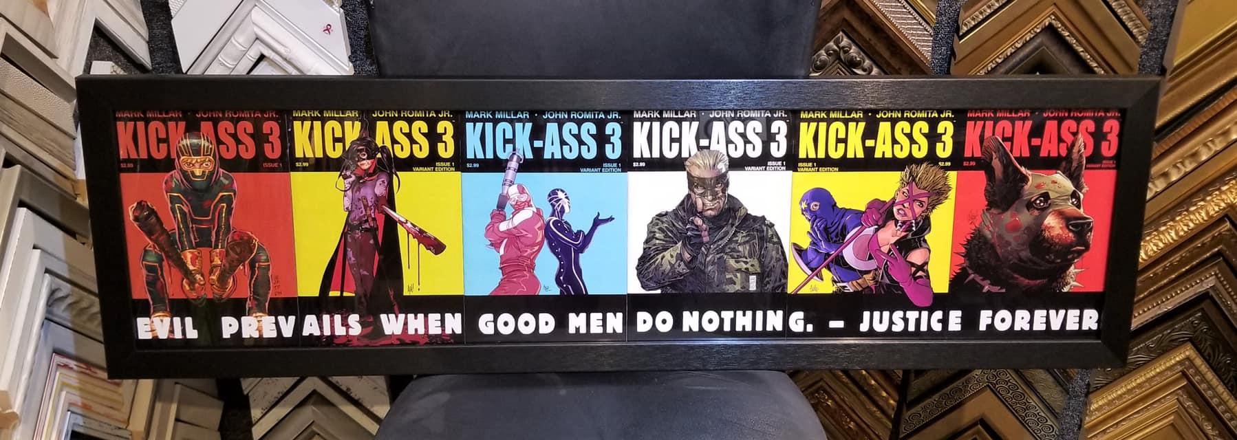 Kick Ass 3 Comic books