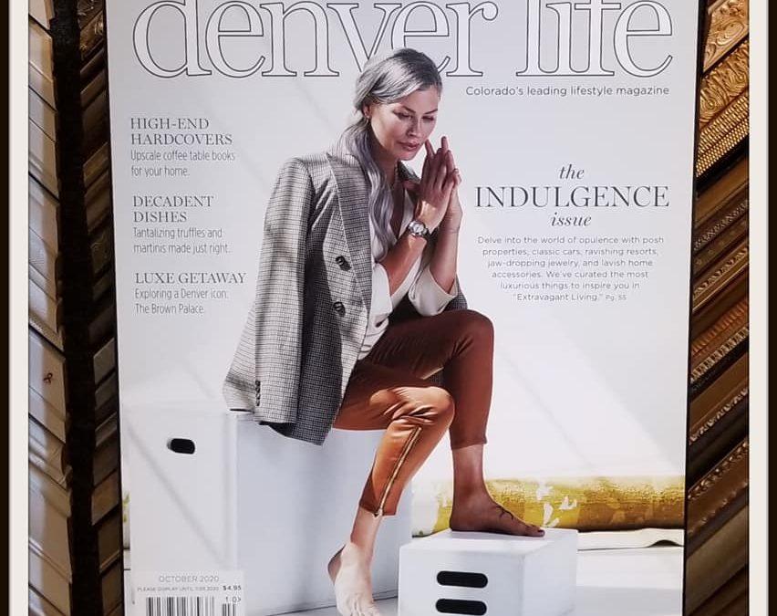 Denver Life Magazine Cover Plaque