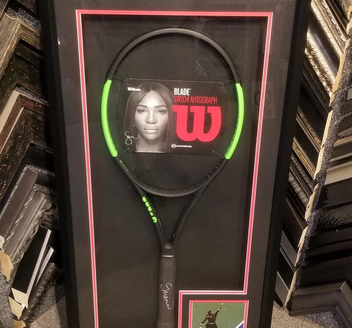 Signed Tennis Racket