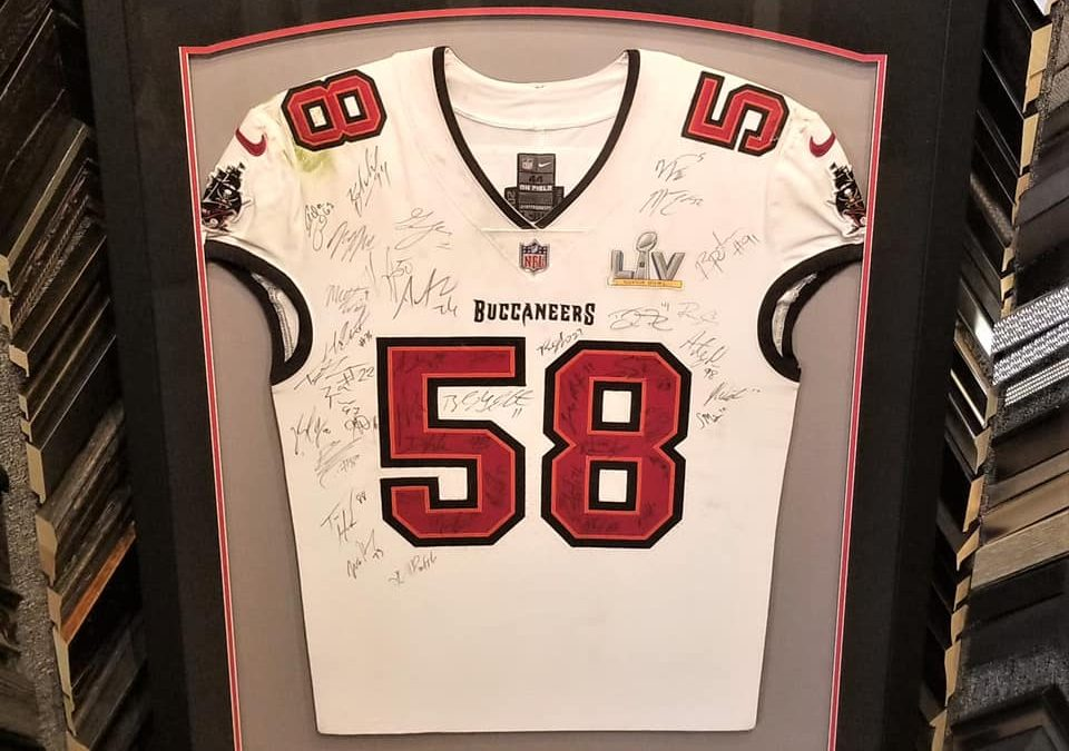 Team signed and game-worn