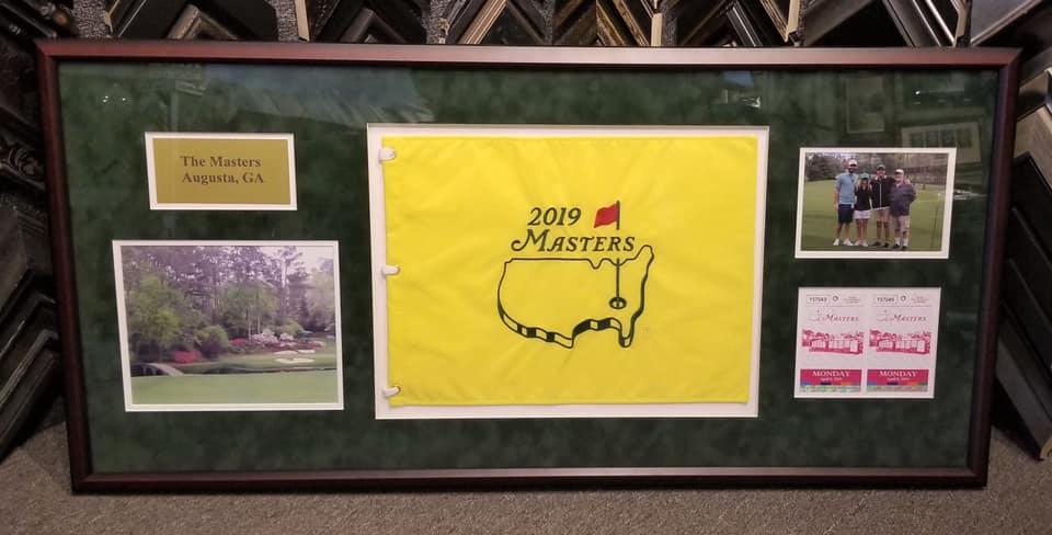 2019 Masters Flag