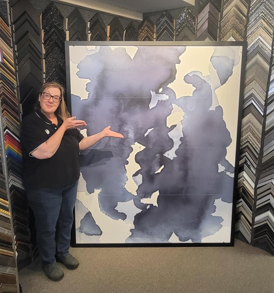 We do frame large originals
