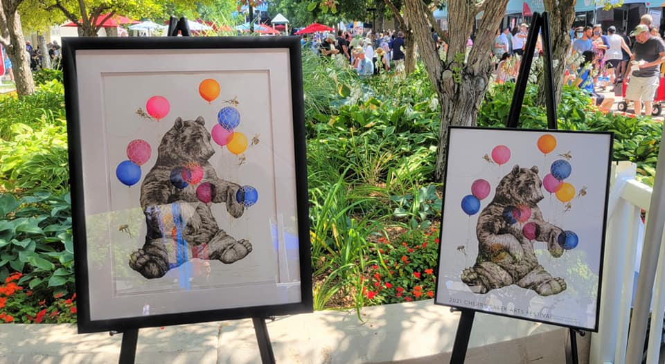 First day of the 30th Annual Cherry Creek Arts Festival!
