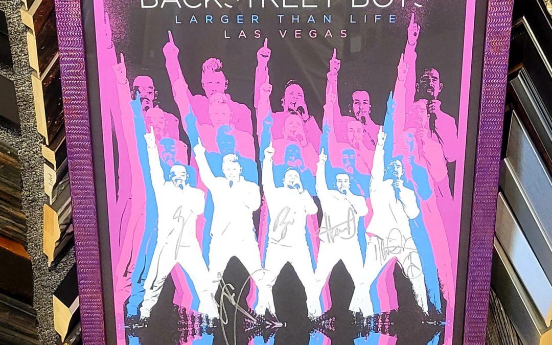 Back Street Boys print
